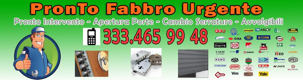 333.465 99 48 Fabbro Urgente